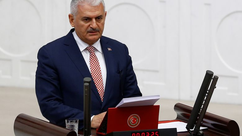 Turkey's ruling party completes proposal on presidency: PM