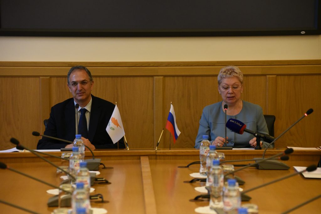 Cyprus – Russia sign landmark agreement in the field of Education and Science