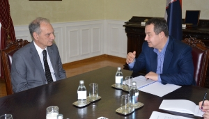 Minister Dacic received newly appointed Ambassador of Greece