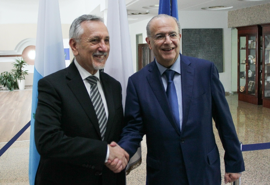 The Minister of Foreign Affairs met with the Minister of Foreign Affairs of San Marino