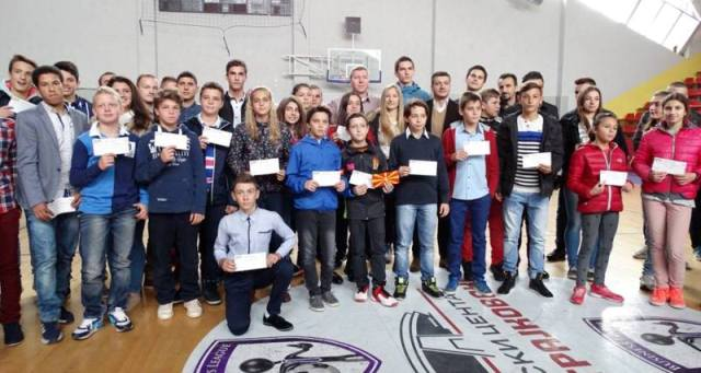 500 scholarships for young successful sportsmen in FYROM