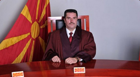 Nikola Ivanovski is elected Chief Justice of the Constitutional Court