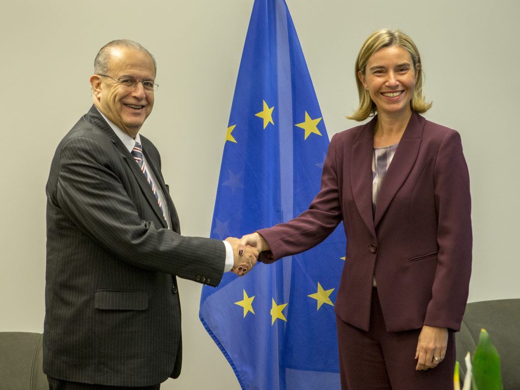 Kasoulides participates in the EU Foreign Affairs Council, in Luxembourg