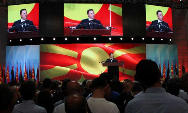 Political rhetoric in FYROM assumes ethnic elements