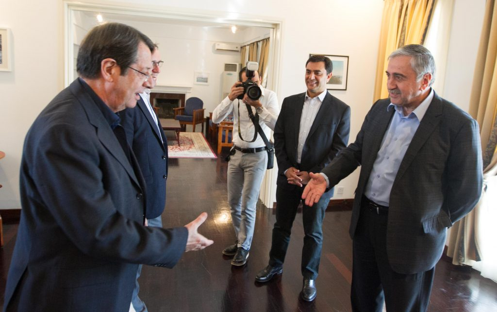 """President Anastasiades on the Cyprus problem: """"There are convergences on most of the issues"""""""