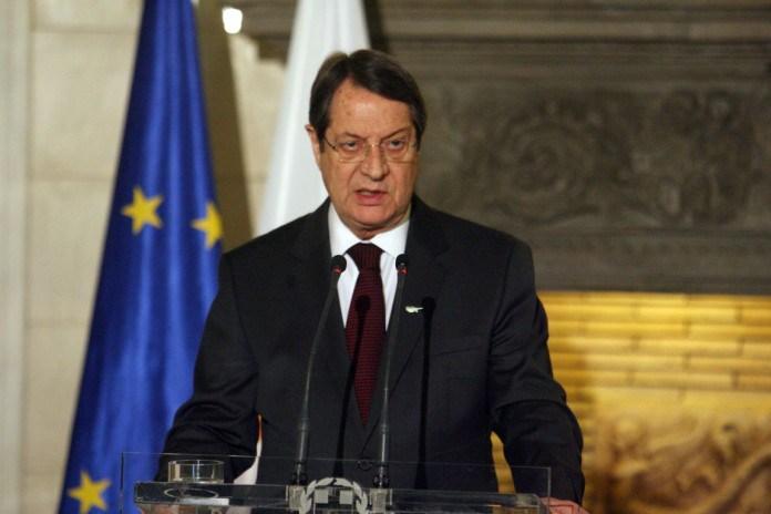 President Anastasiades announces positive progress made at peace talks