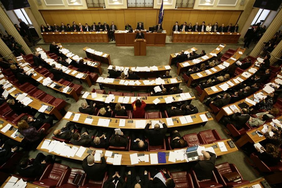 New Croatian Parliament inaugurated