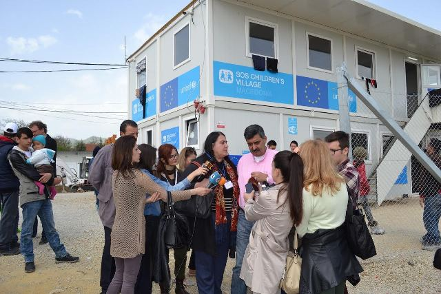 61 refugees in the Transit Center of Tabanoc do not want to stay there