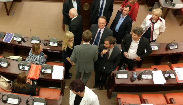 Dissolution of parliament in FYROM to take place on Monday
