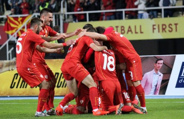 FYROM U-21 qualifies for the European Football Championship