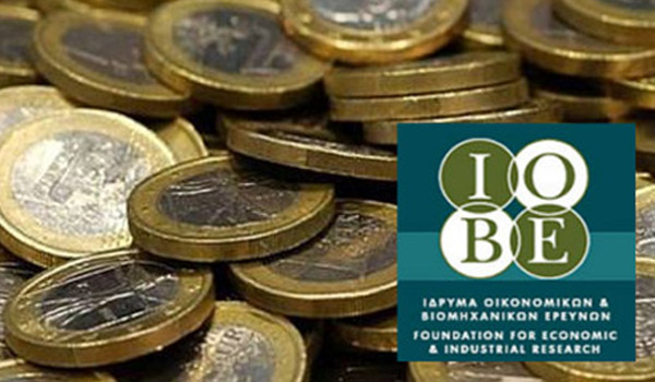 IOBE expects Greek GDP to shrink less than expected this year