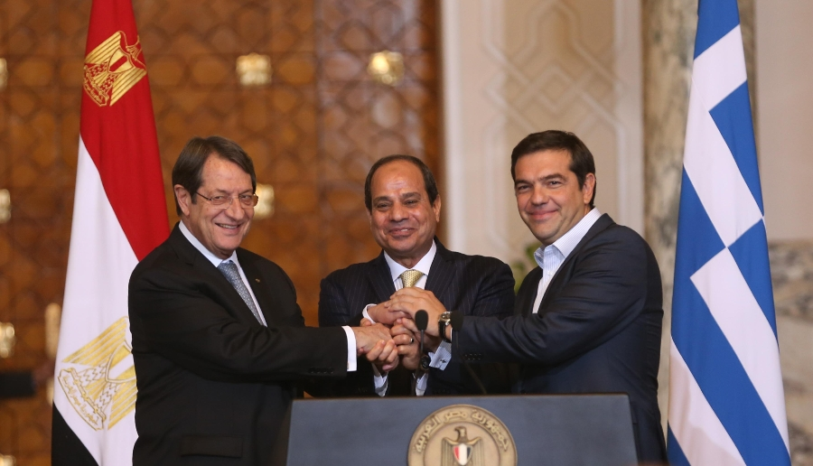 President Anastasiades expresses satisfaction with deepening of trilateral cooperation