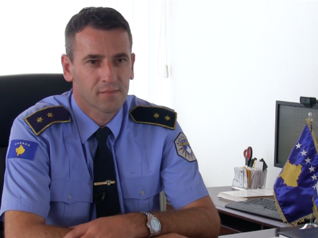 Kosovo police's director interrogated on terrorism charges
