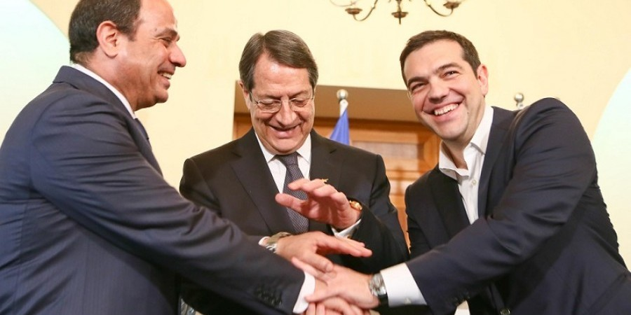 Trilateral Summit of Cyprus, Greece and Egypt takes place on Tuesday