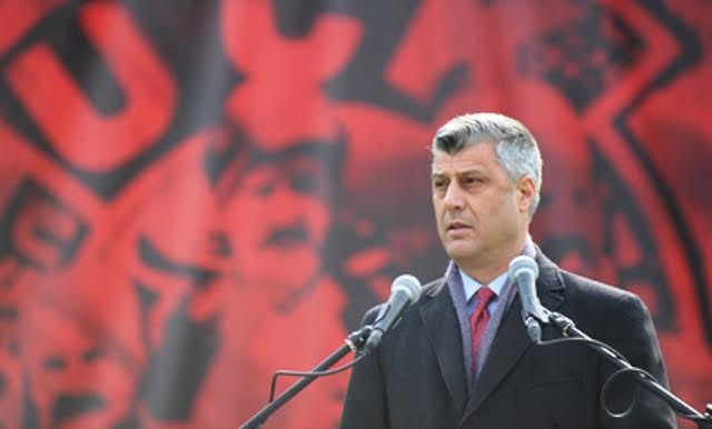 President Thaci pledges that all political murders and crimes committed after the war will be solved