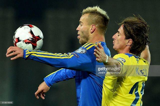 Kosovo defeated by Ukraine