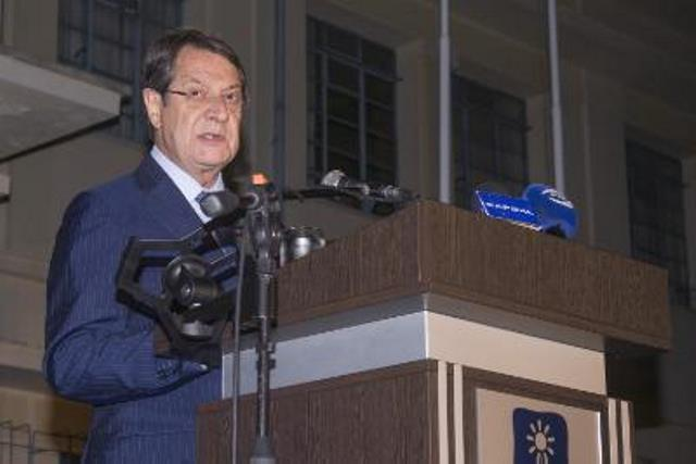 President Anastasiades makes reference to Cyprus problem at anti-occupation event