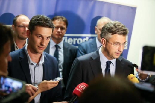 Plenković and Petrov: Croatia Will Have Stable and Effective Government