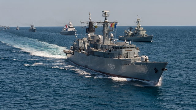 Romania, France to conduct live fire Black Sea naval exercise