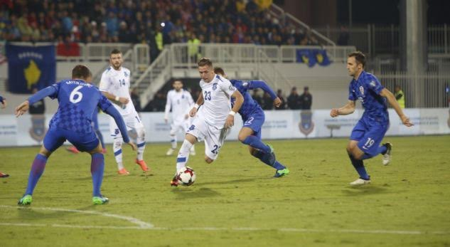 Kosovo defeated by Croatia