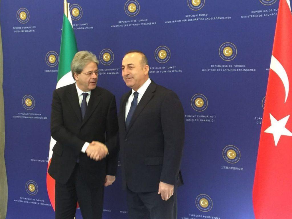 Turkey 'always seeks solution' with Iraq: Turkish FM