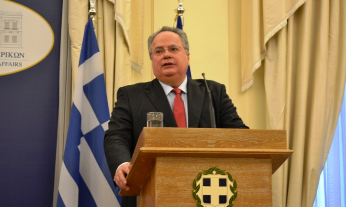 Nikos Kotzias in Brussels to participate in EU Foreign Affairs Council