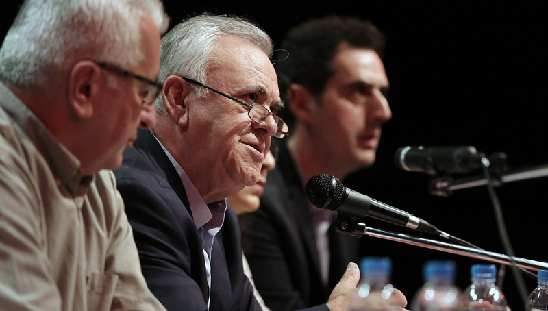 Dragasakis: The system of interweaving and ills of the past will be eradicated
