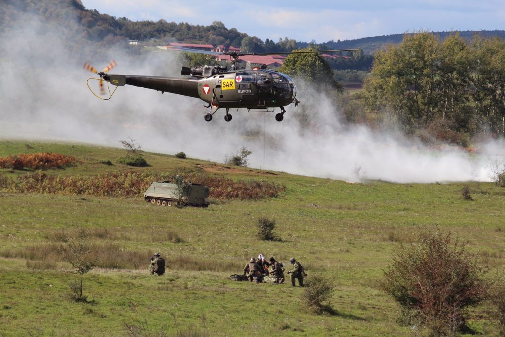 """Exercise """"Quick response 16"""" shows EUFOR and AF BiH readiness"""