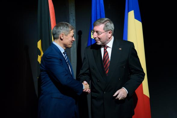 PM Ciolos: Romania-Germany relationship has never been better