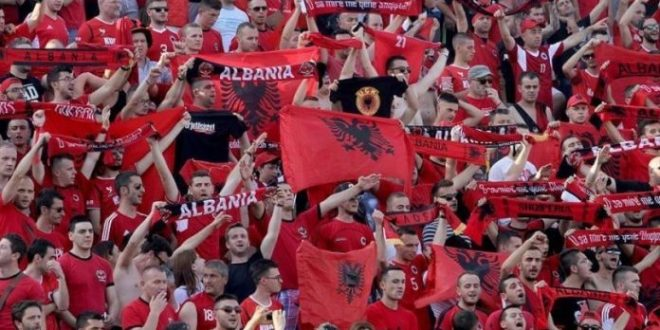 Albanian Football Association fined by FIFA for improper conduct