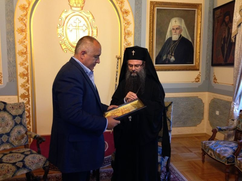 Bulgarian Orthodox Church head in Plovdiv orders bells to peal in honour of PM, government