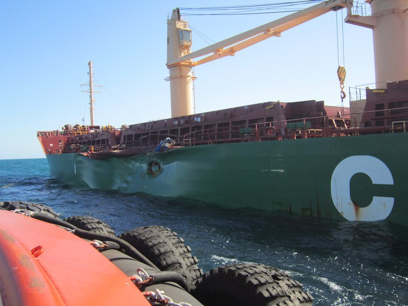 Two fuel tankers collide in Turkey's Marmara Sea