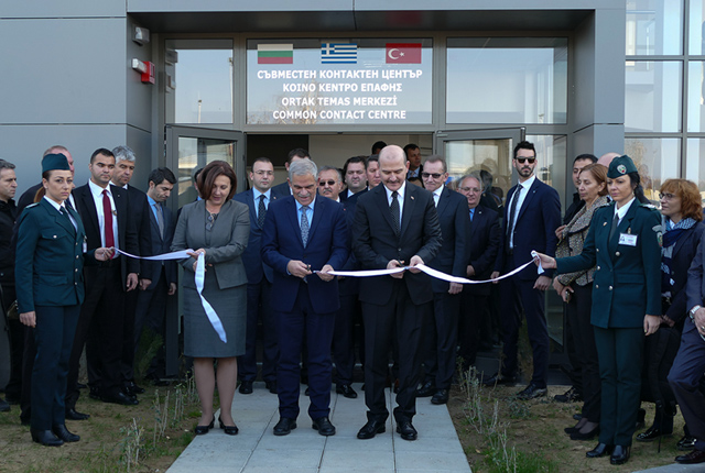 Trilateral Bulgaria-Greece-Turkey contact centre opened at Kapitan Andreevo checkpoint