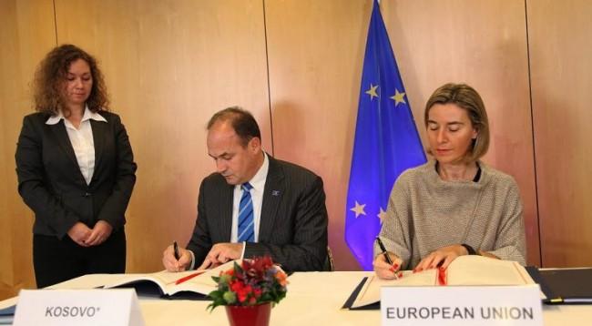 Kosovo signs an agreement for access in EU programs