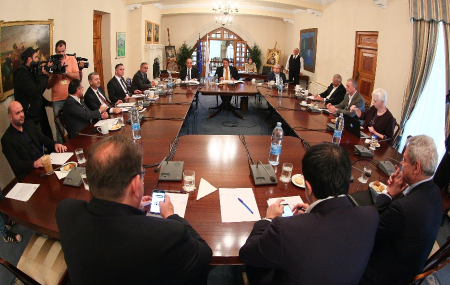 "President Anastasiades: ""We have an excellent cooperation with the Greek Government"""