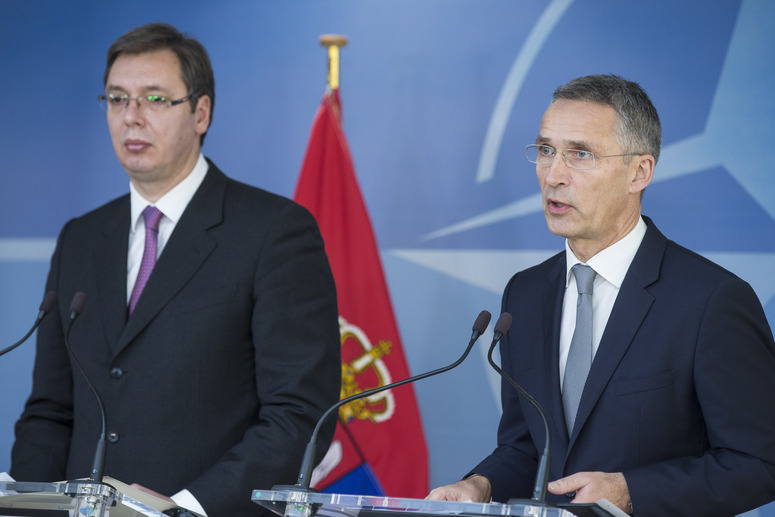 "NATO ""respects Serbia's neutrality"""