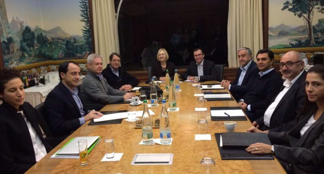 No convergences achieved on criteria for territorial adjustment at Cyprus peace talks