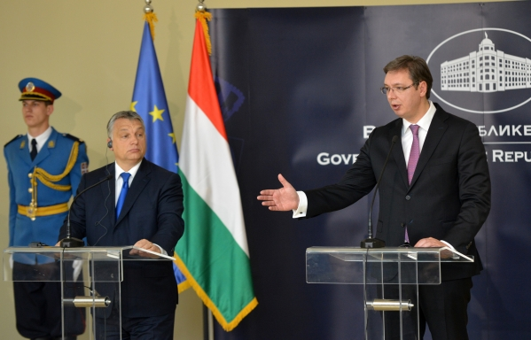 """Serbo-Hungarian relations """"excellent"""""""
