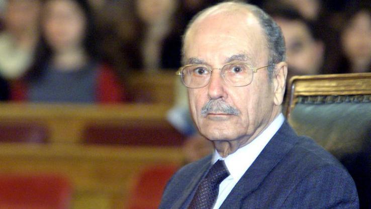 Former President Kostis Stephanopoulos dies in hospital on Sunday