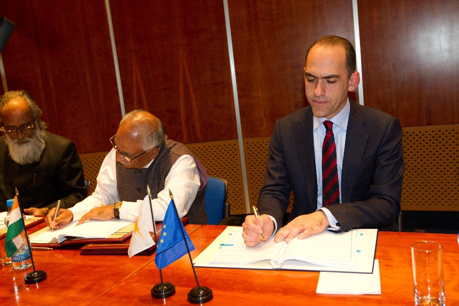 Cyprus – India sign Agreement on the Avoidance of Double Taxation
