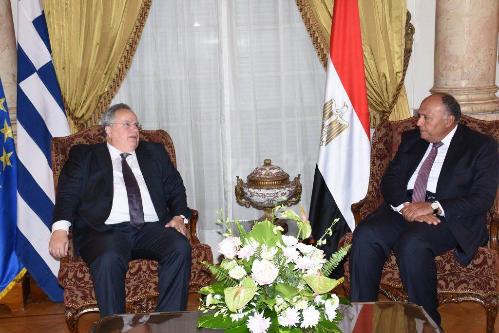 Strengthening of Greece – Egypt bilateral relations