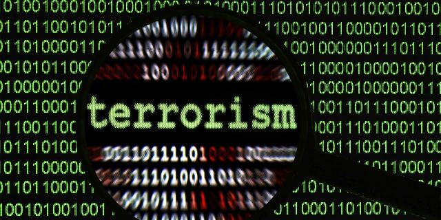 Blocking of internet communications between terrorist and extremist groups