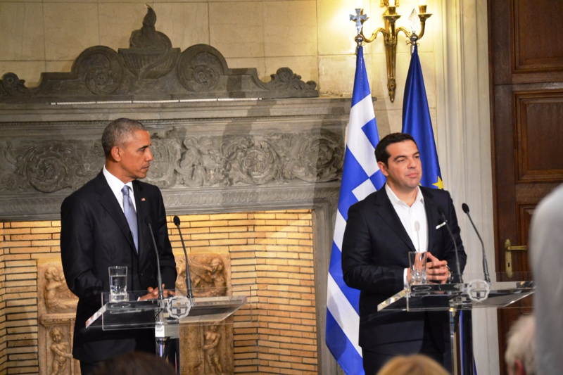 Obama: Greek economy is recovering but debt relief is necessary