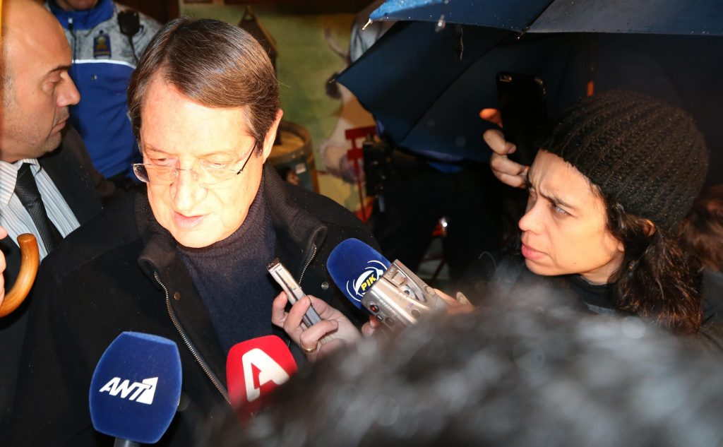 Anastasiades: Creative effort by both sides in good climate