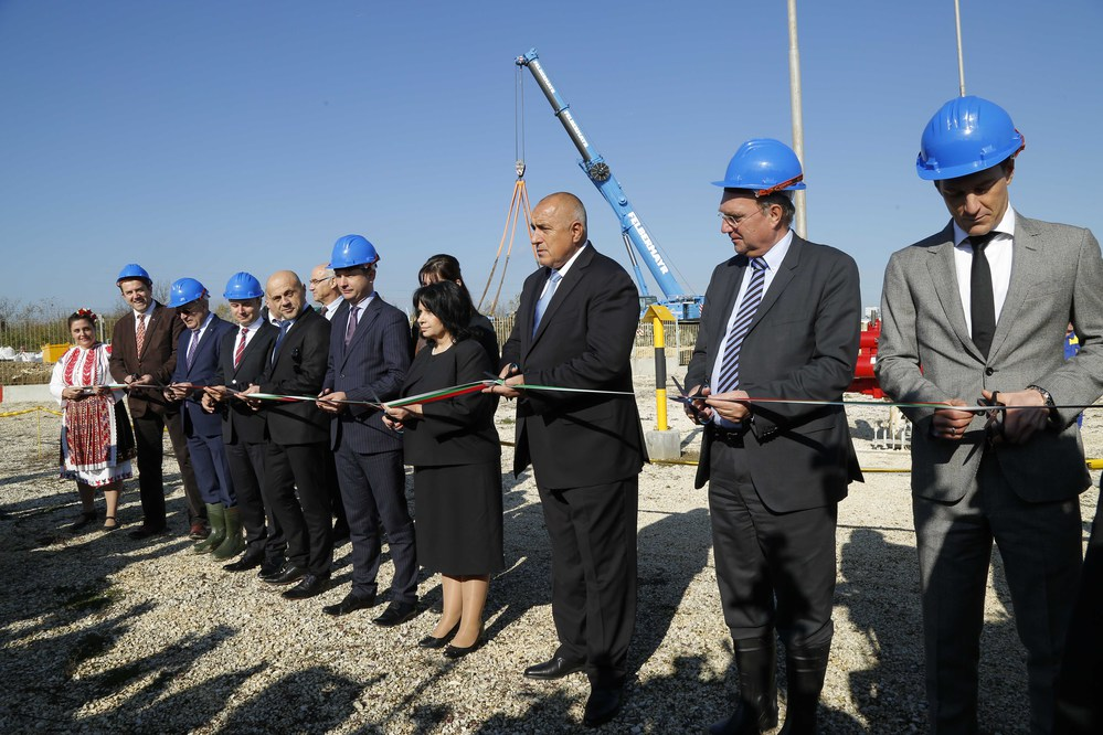 Bulgaria-Romania gas interconnector pipeline finished