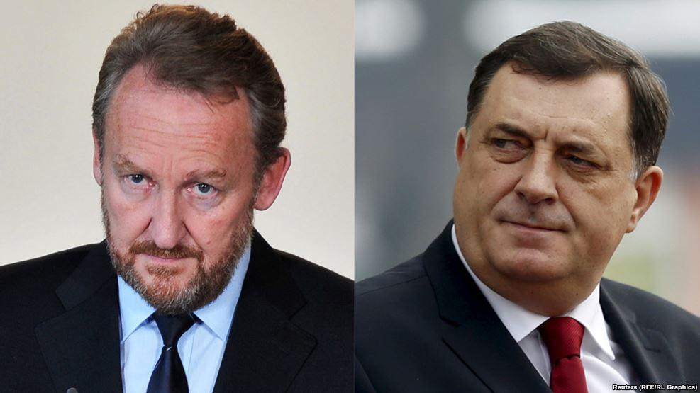 Dodik gets into new row with Izetbegovic
