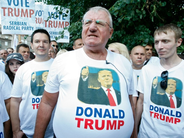 Serbia celebrates Trump's victory