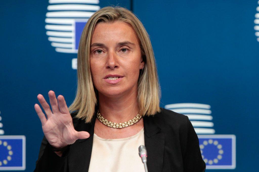 Mogherini slams Turkey on rule of law, media freedom and MPs pogrom