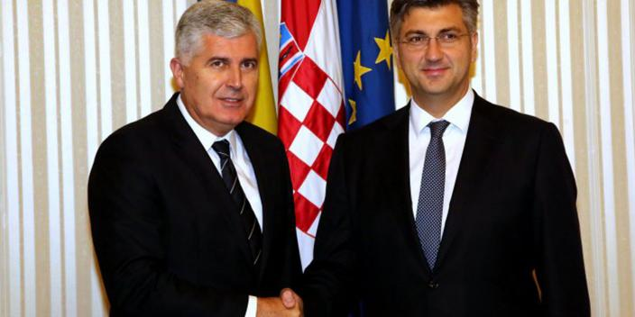 Plenkovic, Covic say selective approach unacceptable