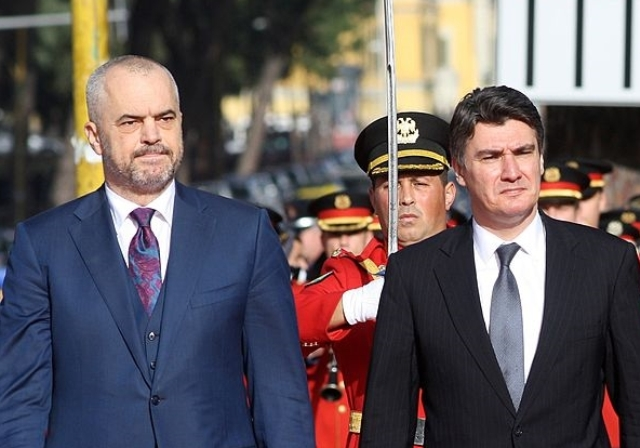 Croatia's former PM Milanovic and former deputy PM Grcic are the new advisors of the Albanian PM Rama